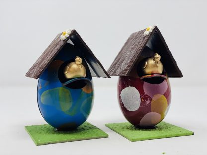 Egg House Red and Blue