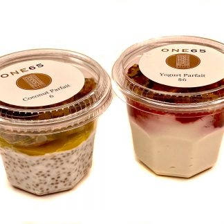Yogurt Parfait and Coconut Parfait